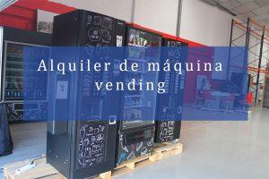 alquiler de maquina vending