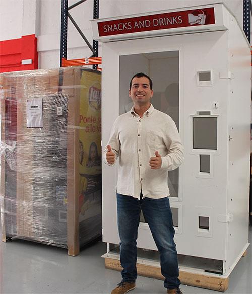 alquiler de máquinas expendedoras antibandálicas blindadas