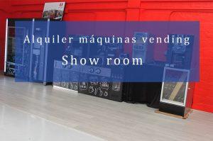 alquiler maquinas vending